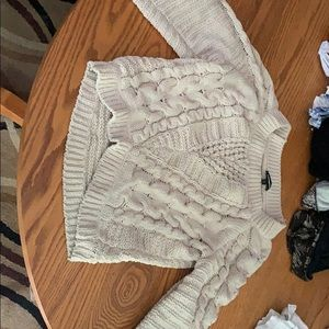 Tan sweater from express